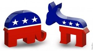 Political Parties Democrats versus Republicans
